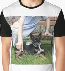 Pet the Puppy Graphic T-Shirt
