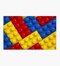 COLOUR legos Photographic Print