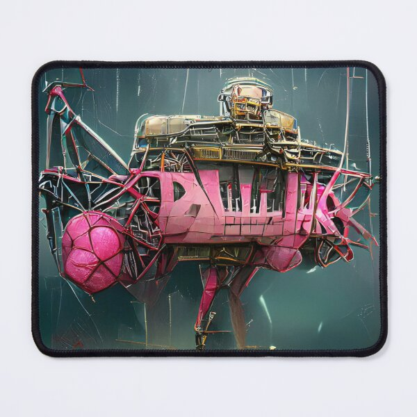 Exoplanet 005 | AI-generated classical style artwork | gan art print Mouse Pad