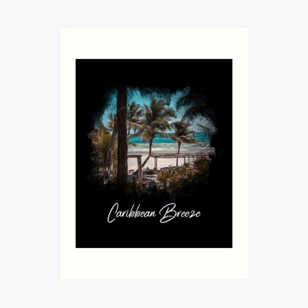 Caribbean Breeze Art Print