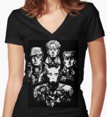 Bohemian Rhapsody Jojo Women's Fitted V-Neck T-Shirt