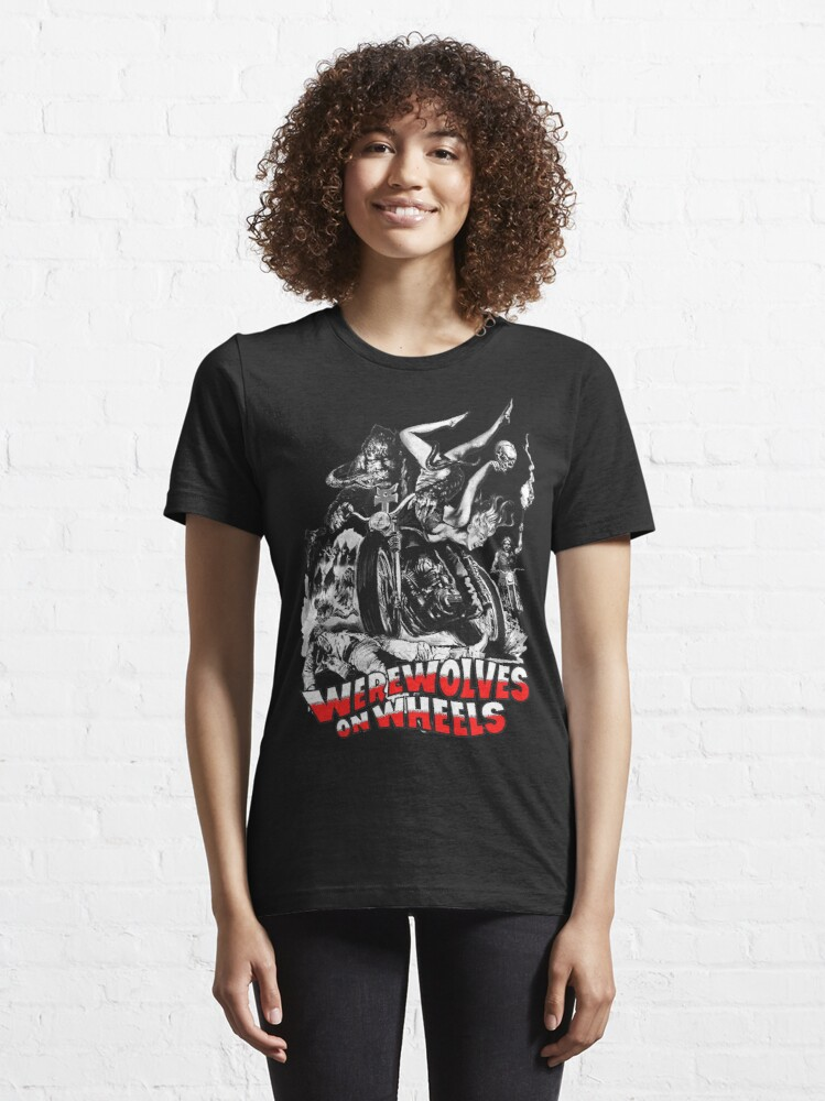 Alternate view of Werewolves on Wheels Essential T-Shirt