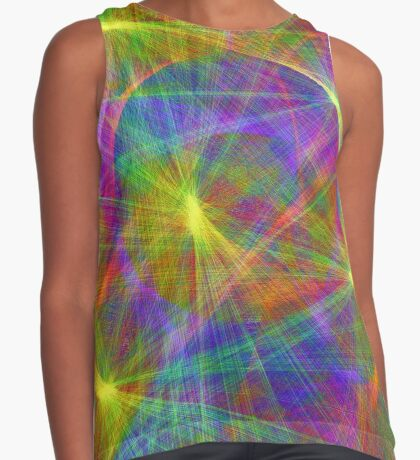 Disco stage lights Sleeveless Top