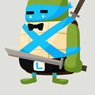 Leonardo in Disguise by mykowu