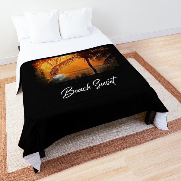 Beach Sunset Comforter