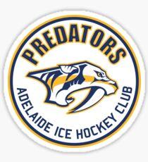 Adelaide Predators Circular Logo Sticker