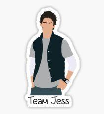 Team Jess Cartoon Sticker