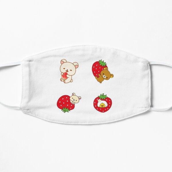 Rilakkuma Strawberry Flat Mask