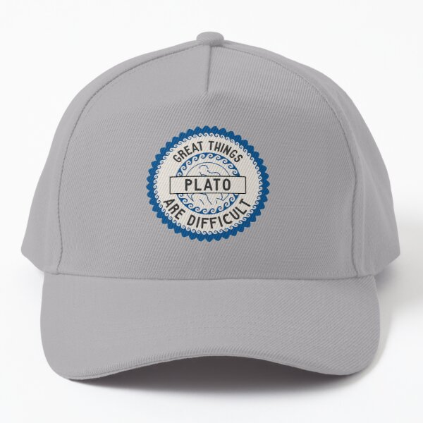 Great Things Are Diffucult Baseball Cap