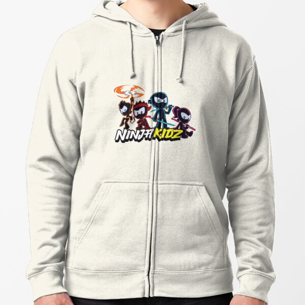 ninja kidz Zipped Hoodie