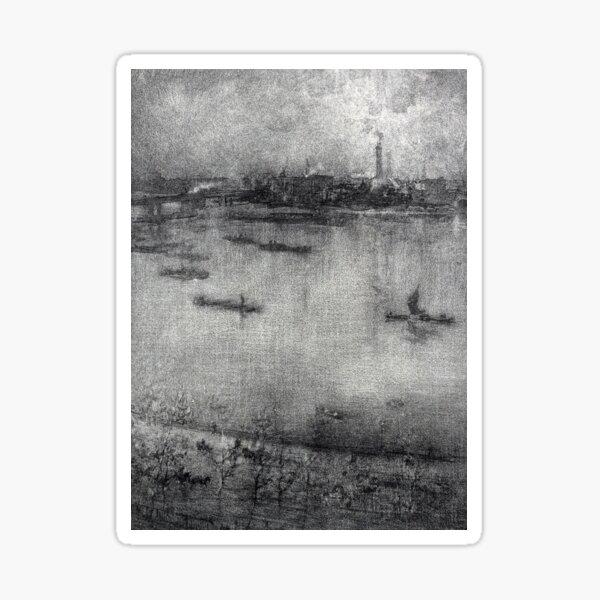 James Whistler The Thames Sticker