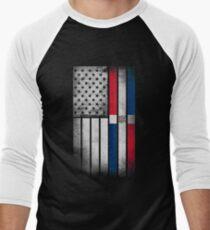 Dominican American Flag - Half Dominican Half American  T-Shirt