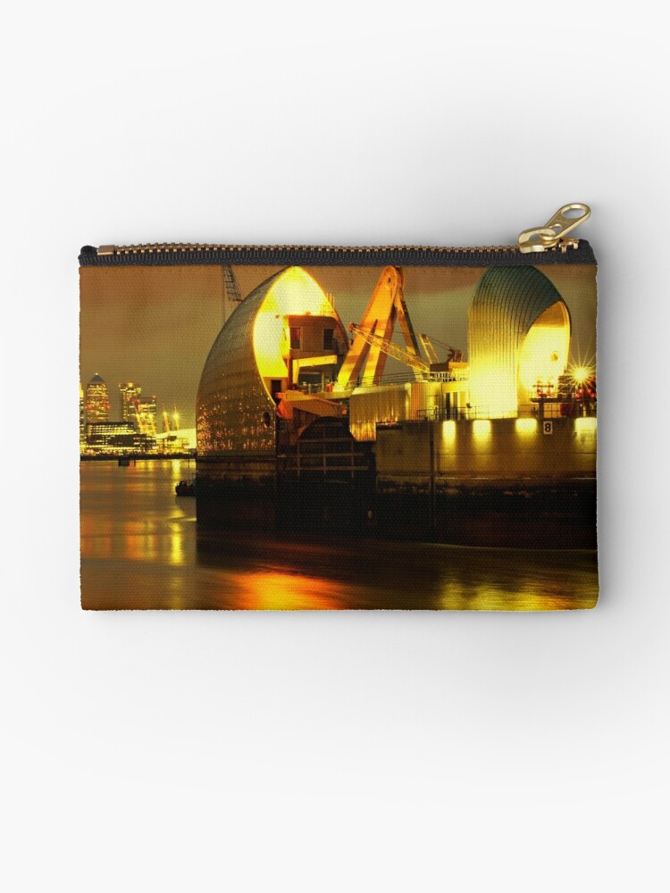 The Thames Barrier by C0balt