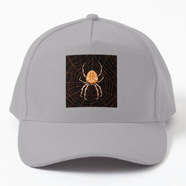 Spider Orange Baseball Cap