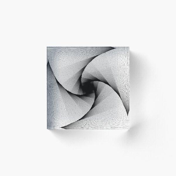 Infinite square Acrylic Block