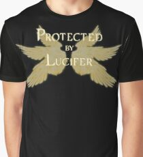 Protected by Lucifer Light Graphic T-Shirt