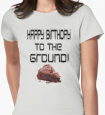 The Lonely Island - Happy Birthday To The Ground! Womens Fitted T-Shirt