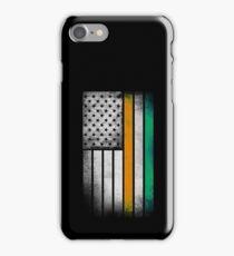 Irish American Flag - Half Irish Half American iPhone Case/Skin
