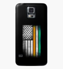 Irish American Flag - Half Irish Half American Case/Skin for Samsung Galaxy