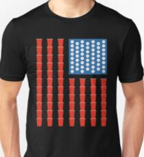 Beer pong champ flag T-Shirt