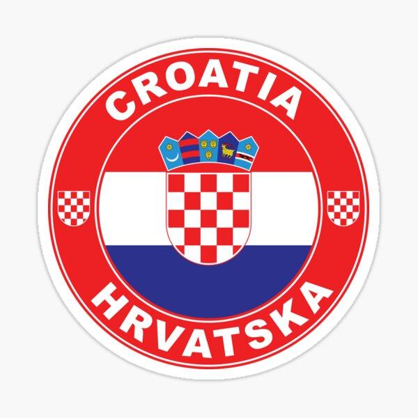 Flag of croatia Sticker