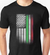 Italian American Flag - Half Italian Half American T-Shirt