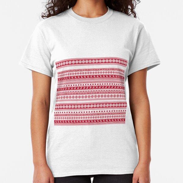 Nordic - Scandinavian Christmas Classic T-Shirt