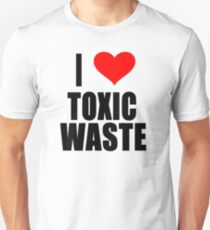 Real Genius - I Love Toxic Waste T-Shirt