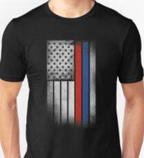 Russian American Flag - Half Russian Half American T-Shirt