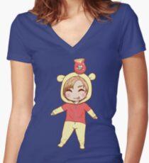 Sungjae (BTOB) Women's Fitted V-Neck T-Shirt