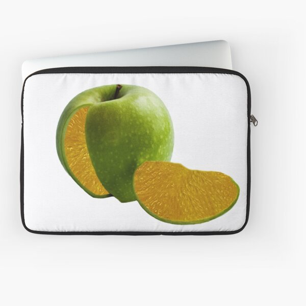 Comparing Apples and Oranges Laptop Sleeve