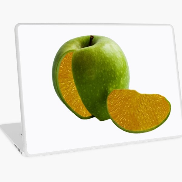 Comparing Apples and Oranges Laptop Skin