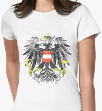 Austrian Coat of Arms Austria Symbol Womens Fitted T-Shirt