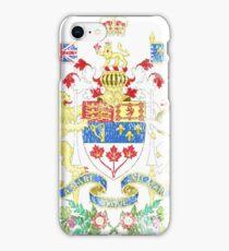 Canadian Coat of Arms Canada Symbol iPhone Case/Skin
