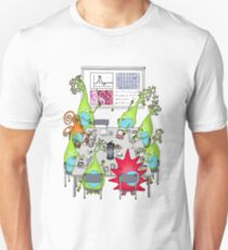 Brain Cell Lab Meeting Unisex T-Shirt
