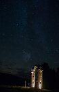 Stars over Menzies Castle, Weem, Perthshire Scotland by Cliff Williams