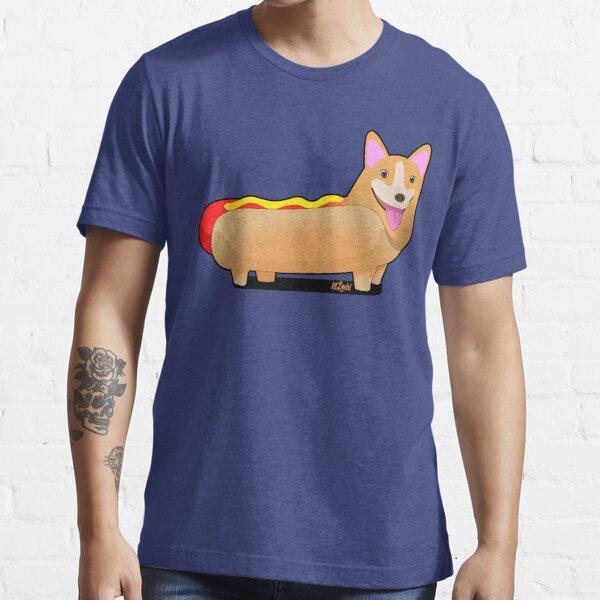 Corgi Hotdog Essential T-Shirt