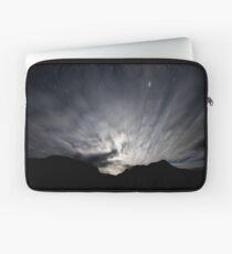 Moon Stream - Startrails version Laptop Sleeve