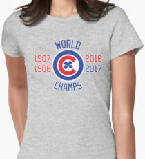 World Champs 2017 Womens Fitted T-Shirt