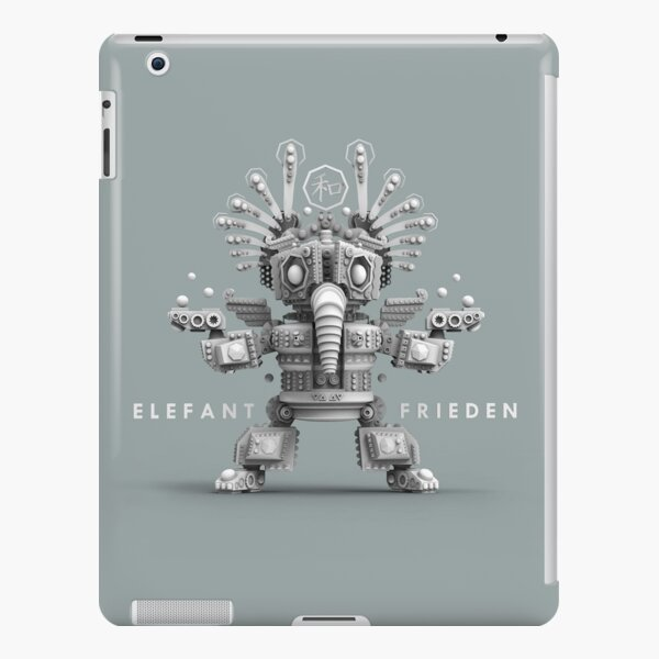 Peace Elephant 2 iPad Snap Case