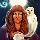 August Intuitive Goddess by Michelle Potter