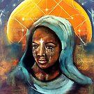 September Healing Goddess by Michelle Potter
