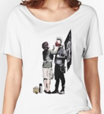 Banksy - Anarchist And Mother Women's Relaxed Fit T-Shirt