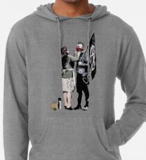 Banksy - Anarchist And Mother Lightweight Hoodie
