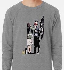 Banksy - Anarchist und Mutter Leichter Pullover