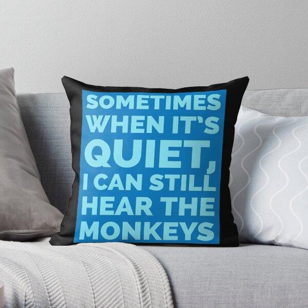 Ich kann immer noch die Affen hören - Escape from Monkey Island Dekokissen