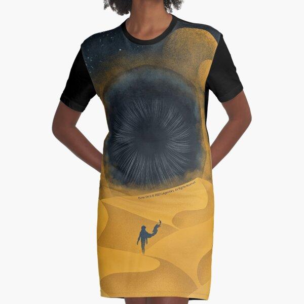 The Great Shai-Hulud, Yellow Sand Graphic T-Shirt Dress