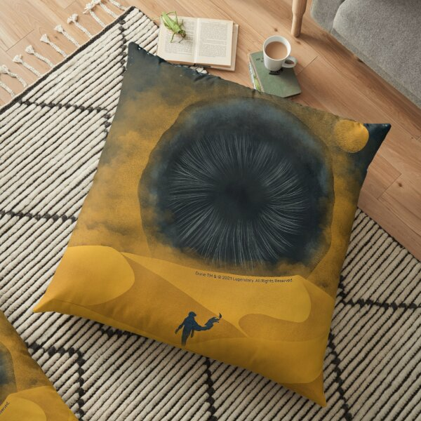The Great Shai-Hulud, Yellow Sand Floor Pillow