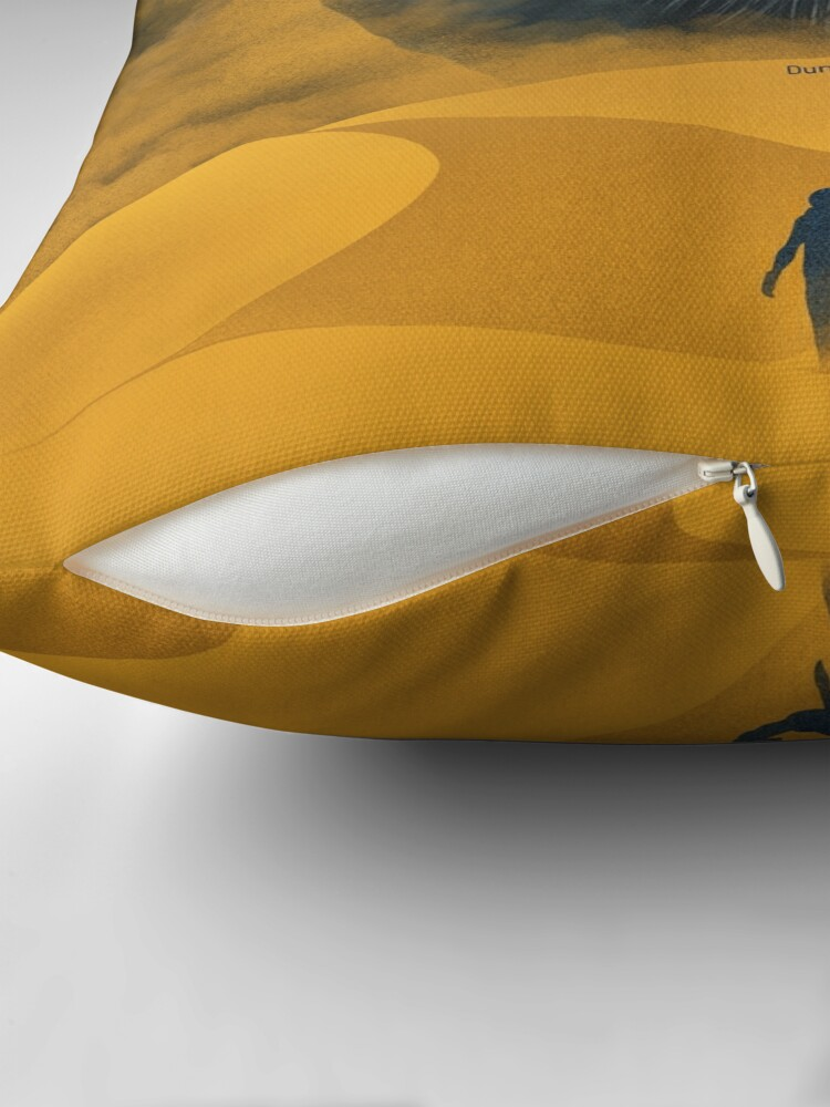 Alternate view of The Great Shai-Hulud, Yellow Sand Floor Pillow