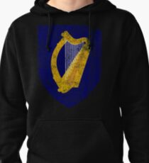 Irish Coat of Arms Ireland Symbol Pullover Hoodie